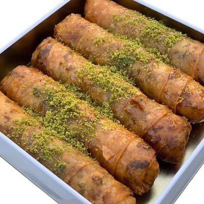 Pistachio Kadaif Dolma , 5 pieces