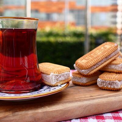 Plain Turkish Delight Sandwich , 6 Pieces