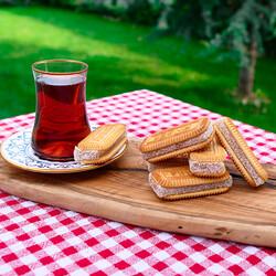 Plain Turkish Delight Sandwich , 6 Pieces - Thumbnail