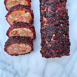 Pomegranate and Zereshk Turkish Delight With Peanut , 12oz - 350g - Thumbnail