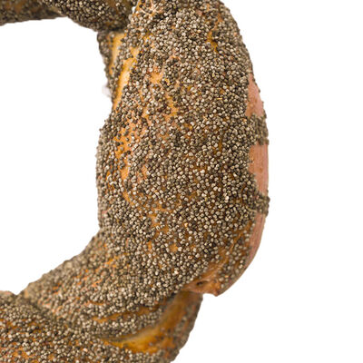 Poppy Seeds Covered Simit , 2 Pieces