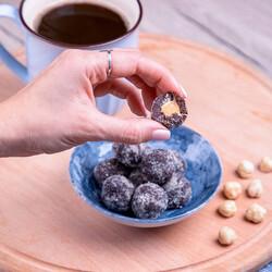 Powdered Hazelnut Coated Powdered Pistachio Flavored Lokma , 3.3oz - 96g - Thumbnail