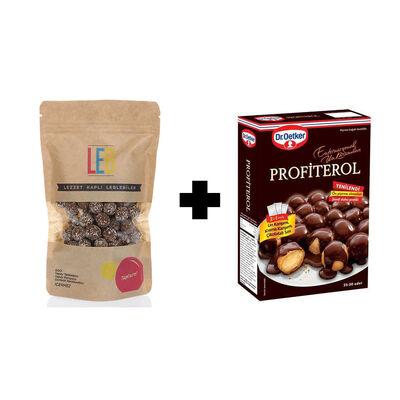 Profiterole - Chocolate and Coconut Coated Roasted Chickpeas