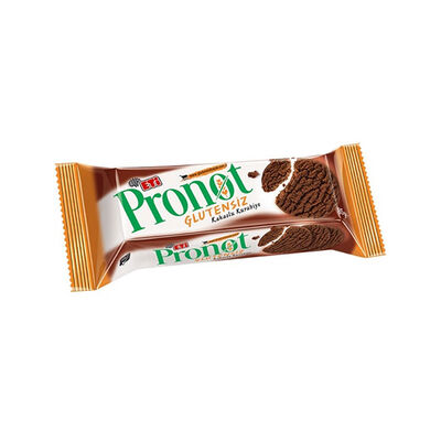 Pronot Gluten Free Cocoa Cookies, 3oz - 85g 3 pack