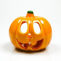Pumpkin Candleholder , 4x4 Inches - Thumbnail