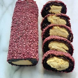Raspberry Flavoured Turkish Delight , 12oz - 350g - Thumbnail