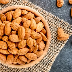 Roasted Almond No Shells , 1.1lb - 500g - Thumbnail