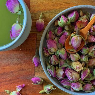 Rose Buds Tea , 2.8oz - 80g
