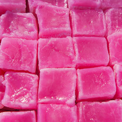 Rose Flavored Turkish Delight , 21.16oz - 600g - Thumbnail
