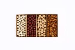Small Box of Roasted Chickpeas Assortment , 17.5oz - 500g - Thumbnail