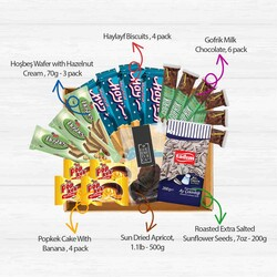 Snacks Basket, 19 pieces - Thumbnail