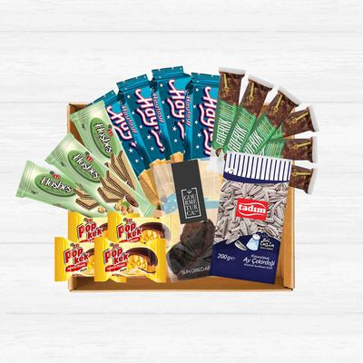 Snacks Basket, 19 pieces