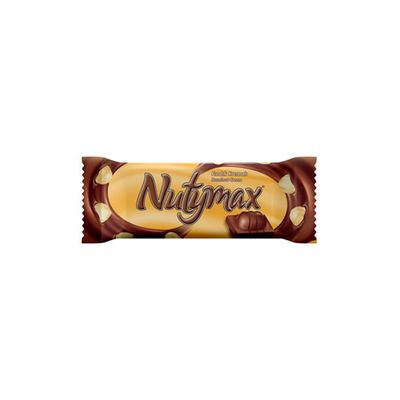 Nutymax Wafer Chocolate Covered Nuts , 1.5oz - 44g 4 pack