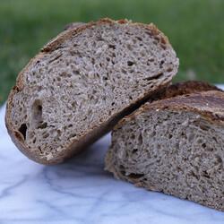 Sourdough Whole Wheat Bread , 16.5oz - 468g - Thumbnail