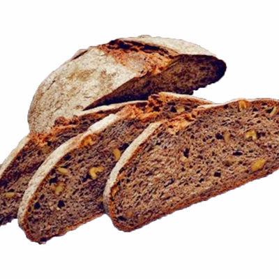 Whole Wheat Sourdough Bread With Walnut , 650g