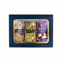 Special Box Ottoman Turkish Delight , 6 pieces - Thumbnail