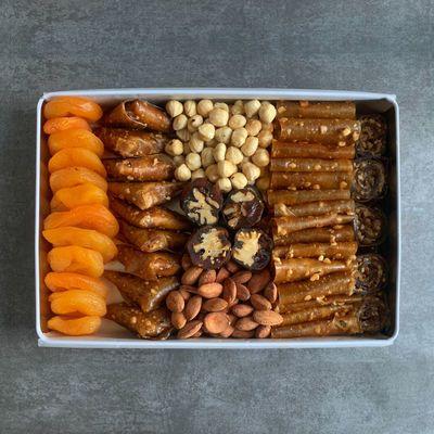 Special Gourmeturca Nuts and Pestil Mix , 34oz - 970g