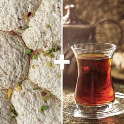 Special Pistachio Halva and Turkish Tea - Thumbnail