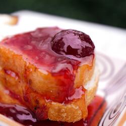 Handmade Natural Strawberry jam , 13.4oz - 380g - Thumbnail