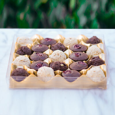 Suffle Cookies Filled With Nutella and Almond , 20.4oz - 580g