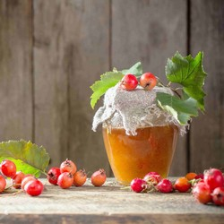 Handmade Natural Sugar-free Hawthorn Marmalade , 12oz - 350g - Thumbnail