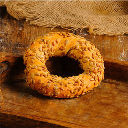 Sunflower Kernel Covered Simit , 2 Pieces - Thumbnail