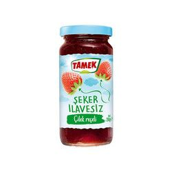 Tamek - Sugar- Free Strawberry Jam , 10oz - 290g