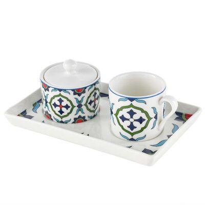 Tile Turkish Coffee Set