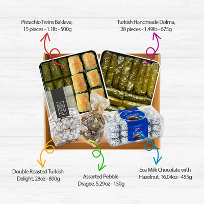 Traditional Eid Appetizer Box, 5 pieces