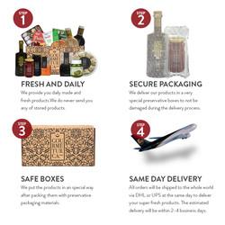 Traditional Iftar Box, 14 pieces - Thumbnail