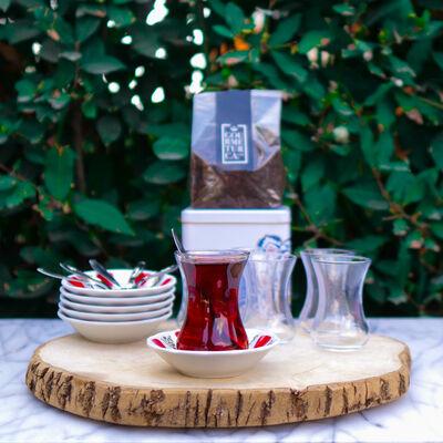 Traditional Turkish Tea Set
