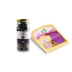 Trakya Aged Kasseri Cheese and Black Olives - Thumbnail
