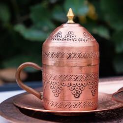Turkish Coffee Service Set , 4 Pieces - Thumbnail
