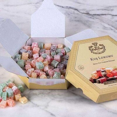 Turkish Delight in Hexagonal Box , 10.6oz - 300g