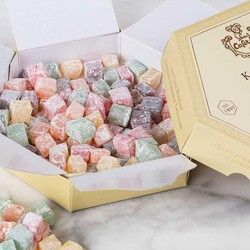 Turkish Delight in Hexagonal Box , 10.6oz - 300g - Thumbnail