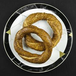 Turkish Simit , 4 pieces - Thumbnail