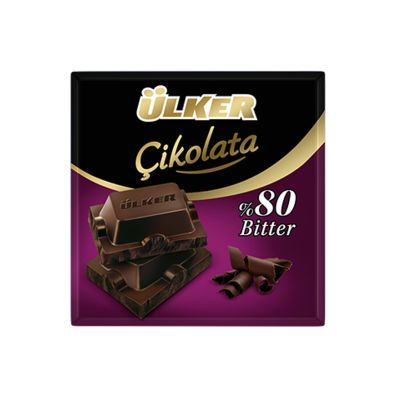 80% Dark Chocolate Square , 4 pack