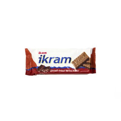 Ikram Sandwich Biscuit with Chocolate Cream , 3 pack
