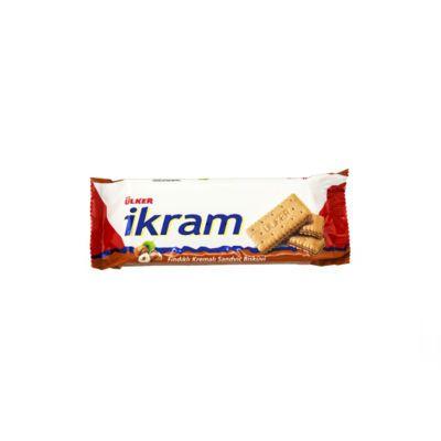Ikram Sandwich Biscuit with Hazelnut Cream , 3 pack