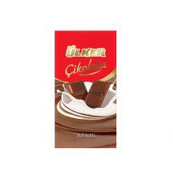 Ülker - Milky Chocolate Tablet , 6 pieces
