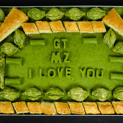 Customized Special Baklava Tray , 126.2oz - 3580g