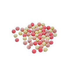 White Chocolate and Fruits Flavored Roasted Chickpeas , 3.8oz - 110g - Thumbnail