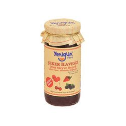 Yenigün - Sugar- Free Four Fruit Jam , 10oz - 290g