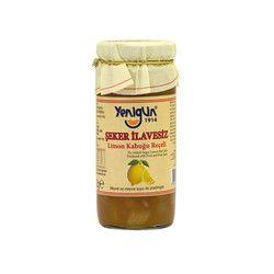 Yenigün - Sugar- Free Lemon Peel Jam , 10oz - 290g