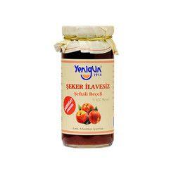 Yenigün - Sugar- Free Peach Jam , 10oz - 290g