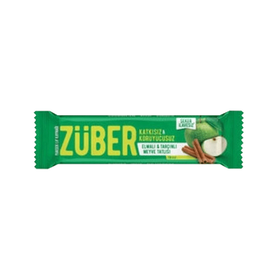 Züber Apple Cinnamon Fruit Bar , 40g 3 pack