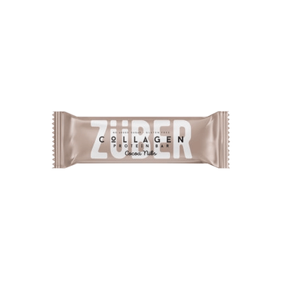 Züber Cocoa Core Collagen Protein Bar , 35g 2 pack